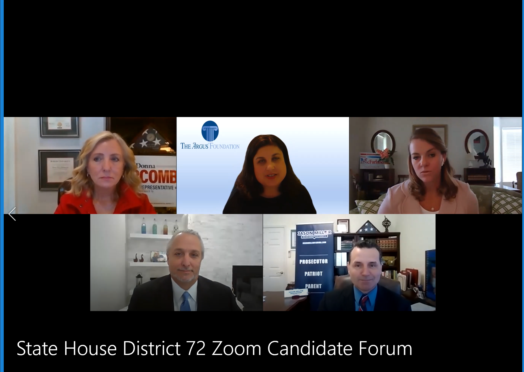 Meet the Minds: Florida House District 72 Zoom Candidate Forum